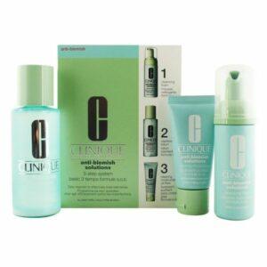 Set de Cosmétiques Femme Anti-blemish Solutions 3 Step Clinique (3 pcs)