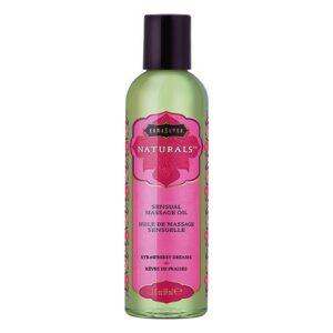 Huile de massage érotique Strawberry Dreams Kama Sutra (59 ml)