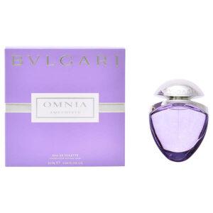 Parfum Femme Omnia Amethyste Bvlgari EDT satin pouch