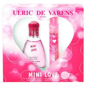 Set de Parfum Femme Mini Love Urlic De Varens 38236 (2 pcs)