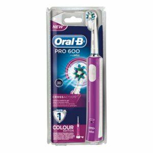 Brosse à dents électrique Pro 600 Cross Action Oral-B