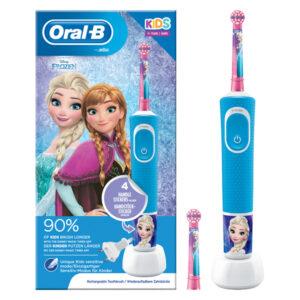 Brosse à dents électrique Frozen Oral-B D12 Vitality Plus Bleu