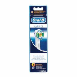 Rechange brosse à dents électrique Oral-B 3D White