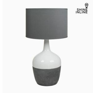Lampe de bureau Blanche Gris by Shine Inline