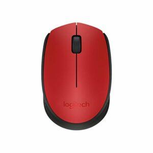 Souris sans-fil Logitech M171 1000 dpi Noir Rouge