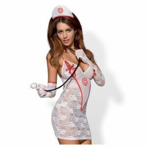 Costume Bloue médicae S/M Obsessive 2999