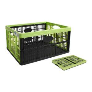 Boîte Multiusage Tontarelli Voilà Pliable Noir Vert (47,5 x 35 x 23,6 cm)