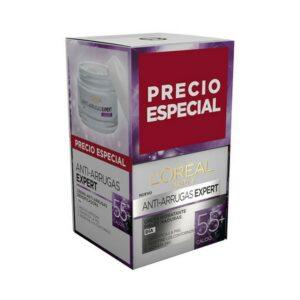 Gel anti-âge de jour Expert Retinol +45 L'Oreal Make Up (2 pcs)