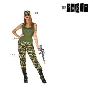 Déguisement pour Adultes Camouflage Vert (3 Pcs)