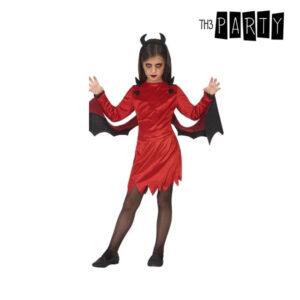 Déguisement pour Enfants Diablesse Rouge (3 Pcs)