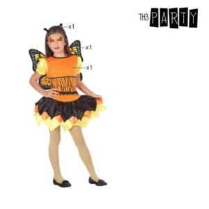 Déguisement pour Enfants Papillon Orange (3 Pcs)