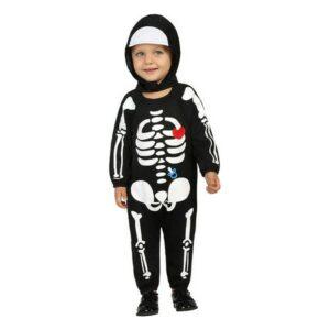 Déguisement pour Bébés Squelette (24 Mois)