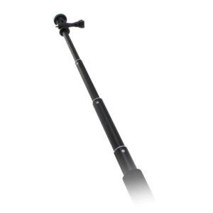 Bâton Selfie pour Caméra de Sport Noir