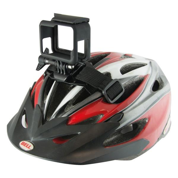 Sangle pour Support de Caméra de Sport pour Casque de Vélo Noir