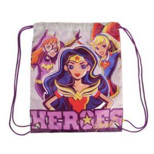 Sac à dos serré par des ficelles DC Super Hero Girls 054