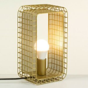 Lampe de bureau Aluminium (17 X 11 x 30 cm)