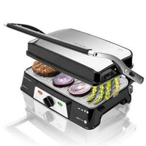 Gril contact Cecotec Rock'n grill 1500 Take&Clean 1500W Noir Argenté