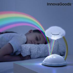 Projecteur LED Nuage Arc-en-ciel Libow InnovaGoods
