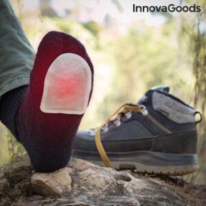 Patchs chauffants pour les pieds Heatic Toe InnovaGoods (Pack de 10)