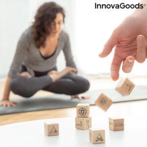 Jeu de dés de yoga Anandice InnovaGoods 7 Pièces
