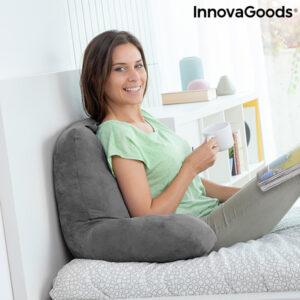 Coussin de lecture avec accoudoirs Huggilow InnovaGoods