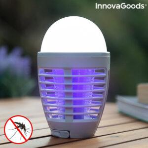 Lampe Antimoustiques Rechargeable à LED 2 en 1 Kl Bulb InnovaGoods