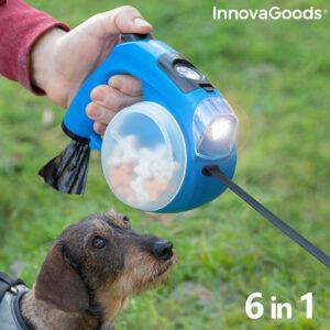 Laisse de chien rétractable 6 en 1 Compet InnovaGoods