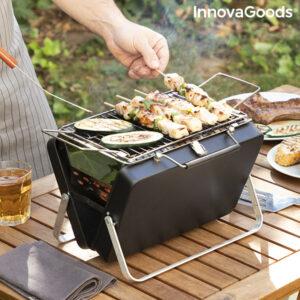 Barbecue à charbon pliable et portable Handy·q InnovaGoods