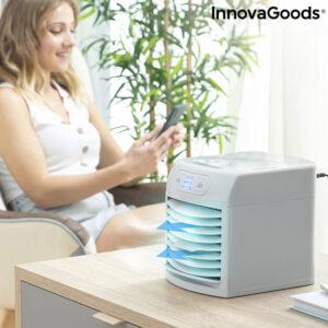 Mini rafraîchisseur d'air mobile avec LED Freezyq+ InnovaGoods