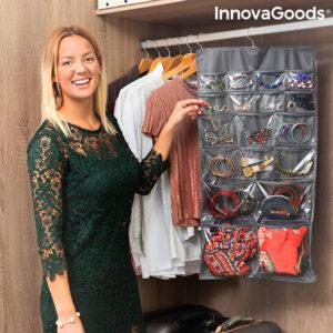 Organisateur Suspendu avec Cintre pour Bijoux et Accessoires Bijette InnovaGoods (36 Poches)