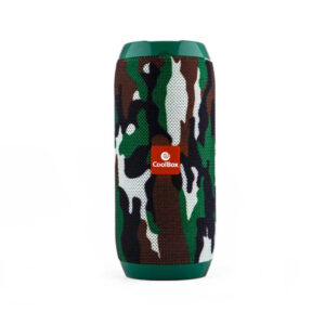 Haut-parleurs bluetooth CoolBox COOLTUBE 10W 1200 mAh FM Camouflage