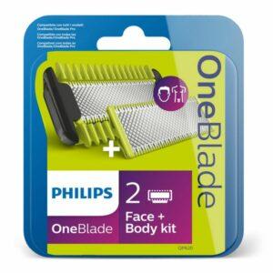 Rechanges pour Lame de Rasoir Philips QP620 Vert