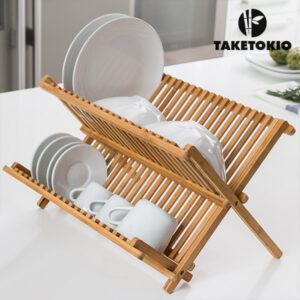 Égouttoir en Bambou TakeTokio