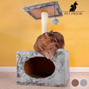 Arbre-Griffoir pour Chats avec Maisonnette
