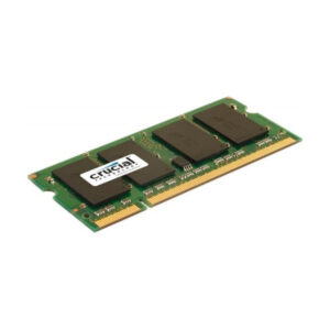 Mémoire RAM Crucial IMEMD20046 CT25664AC800 2 GB 800 MHz DDR2