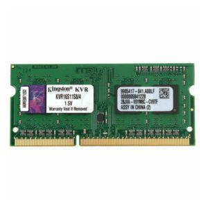 Mémoire RAM Kingston IMEMD30096 KVR16S11S8/4 4 GB 1600 MHz DDR3-PC3-12800