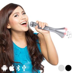 Enceinte Bluetooth Portable avec Microphone 3W 145323