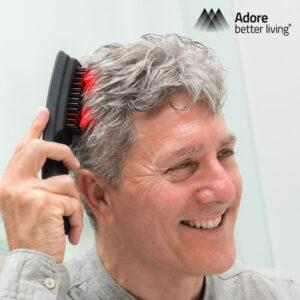Brosse à Cheveux Massante avec Laser Hair Force One