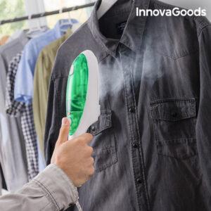 Fer à Vapeur Vertical InnovaGoods 800W Blanc et Vert