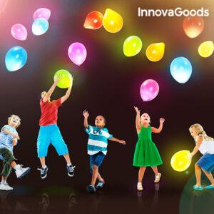 Globes avec LED InnovaGoods (Pack de 10)