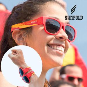 Lunettes de Soleil Enroulables Sunfold Mondial Spain Red