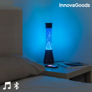 Lampe à Lave avec Haut-Parleur Bluetooth et Microphone InnovaGoods 30W