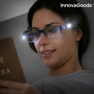 Clip LED pour Lunettes 360° InnovaGoods (Pack de 2)