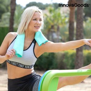 Serviette de Sport de Refroidissement Instantané Effet Glace InnovaGoods