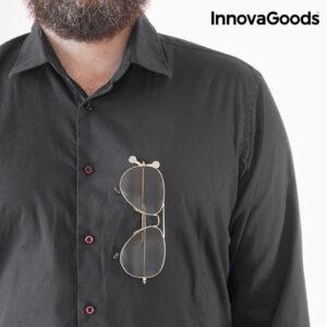 Porte-Lunettes Magnétique InnovaGoods (Pack de 2)