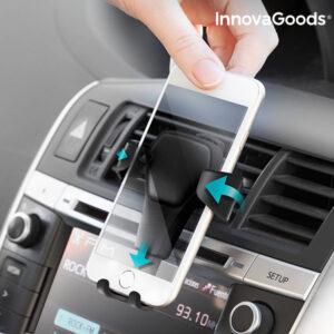 Support Gravitationnel de Téléphones Portables pour Voiture InnovaGoods