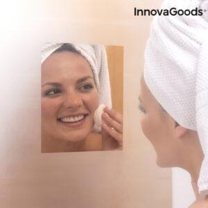Feuille Anti-Buée pour Miroir InnovaGoods (Pack de 2)