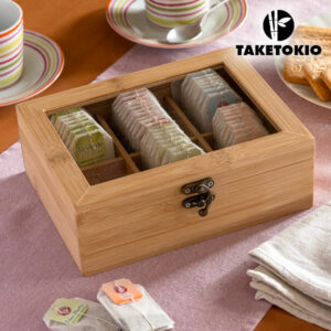 Boîte à Thé en Bambou TakeTokio