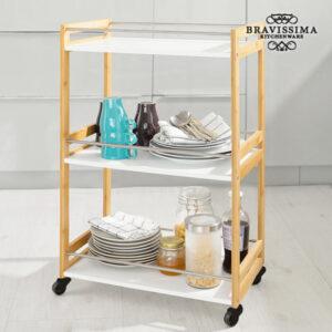 Chariot de Service en Bambou Bravissima Kitchen