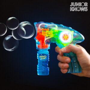 Pistolet à Bulles de savon avec Lumière Junior Knows